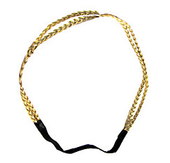 Gold Goddess Braids Headband