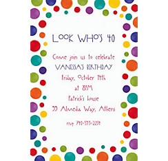 Party Custom Invitation