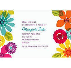 Day in Paradise Custom Invitation