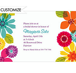 Custom Day in Paradise Luau Invitations