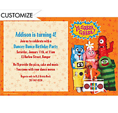 Yo Gabba Gabba! Custom Invitation