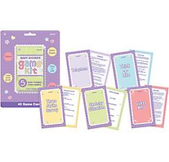 Baby Shower Game Kit 5pc