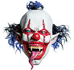Latex Snake Tongue Clown Mask
