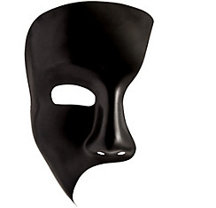Black Phantom Mask