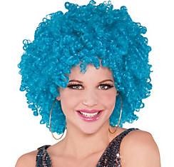 Runway Turquoise Afro Wig