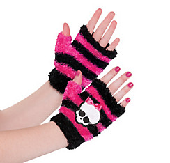 Child Fingerless Monster High Gloves