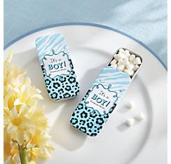 Blue Safari Mint Tin with Candy