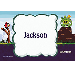 Angry Birds Custom Thank You Note