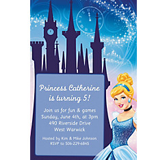 Cinderella Custom Invitation
