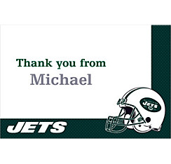 New York Jets Custom Thank You Note