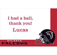 Atlanta Falcons Custom Thank You Note