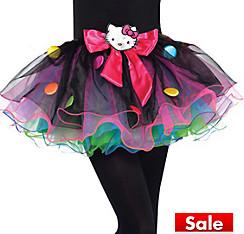 Girls Rainbow Hello Kitty Tutu