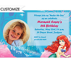 Ariel 2 Custom Photo Invitation
