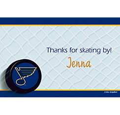 St. Louis Blues Custom Thank You Note