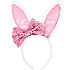 Bow Bunny Ears Headband