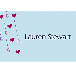 It's Raining Love Custom Bridal Shower Thank You Note