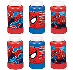 Spider-Man Bubbles 6ct