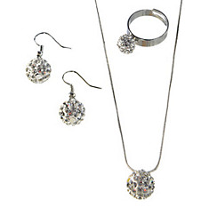 Disco Ball Jewelry Set 4pc