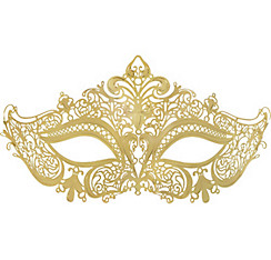 Filigree Gold Mask