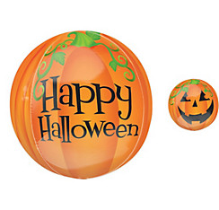 Pumpkin Halloween Balloon - Orbz