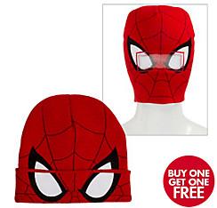 Spider-Man Roll-Down Mask Beanie