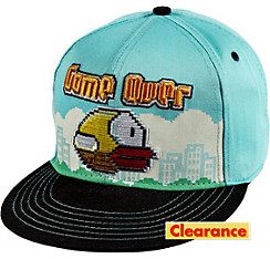 Flappy Bird Baseball Hat