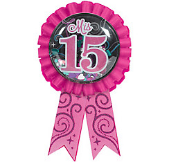Mis Quince Quinceanera Award Ribbon