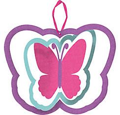 Glitter Spinning Butterfly