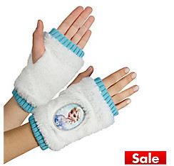Child Elsa Fingerless Gloves - Frozen