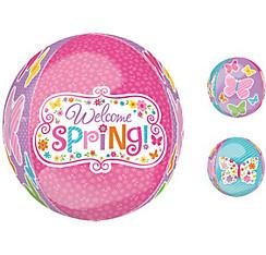 Spring Butterflies Balloon - Orbz
