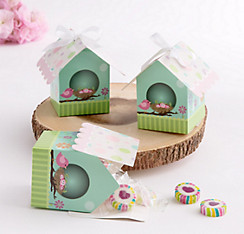 Bird House Favor Boxes 24ct