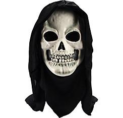 Hooded Horror Skull Mask