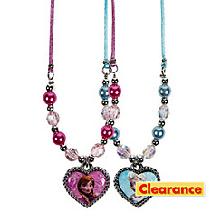 Frozen Heart Pendant Necklaces 2ct