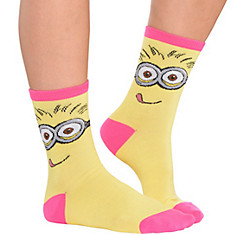 Minion Crew Socks - Despicable Me