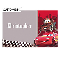 Cars Formula Racer Custom Thank You Note