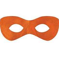 Orange Domino Mask