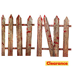 Bloody Fence Yard Stakes 2pc