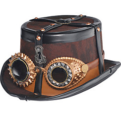 Steampunk Top Hat Deluxe