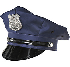 Police Hat Deluxe