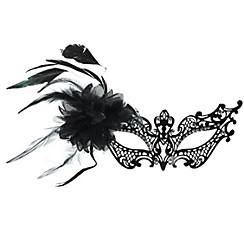 Black Filigree Masquerade Mask