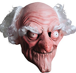 Evil Old Man Mask
