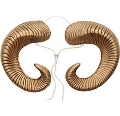 Gold Ram Horns