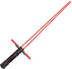 Light-Up Kylo Ren Crossguard Lightsaber - Star Wars Episode VII The Force Awakens