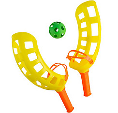 Yellow Fling Toss Game 4pc