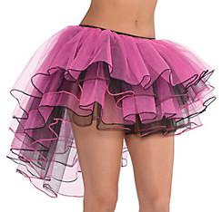 Pink & Black High Low Tutu - Sassy Bride