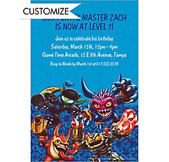 Custom Skylanders Invitations