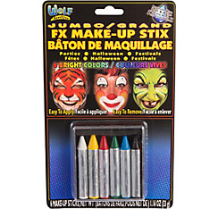 Jumbo Essential Face Paint Crayons 6ct