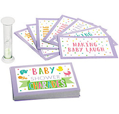 Charades Baby Shower Game
