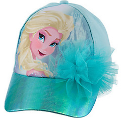 Child Blue Elsa Baseball Hat - Frozen
