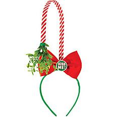 Mistletoe Bow Headband